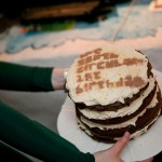 The South Circular 1st Birthday Party cake © Mark Duggan